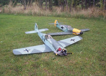 FW190 and ME109