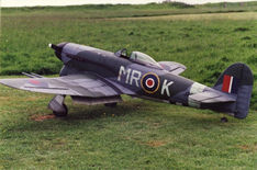 Another shot of Mark Wood's Hawker Typhoon