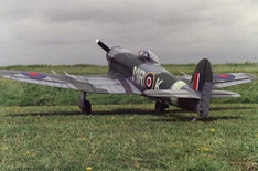 Another great shot of Mark Wood's Hawker Typhoon